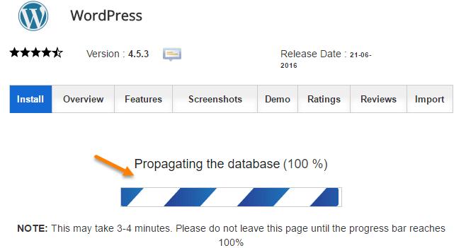 wordpress-install-process